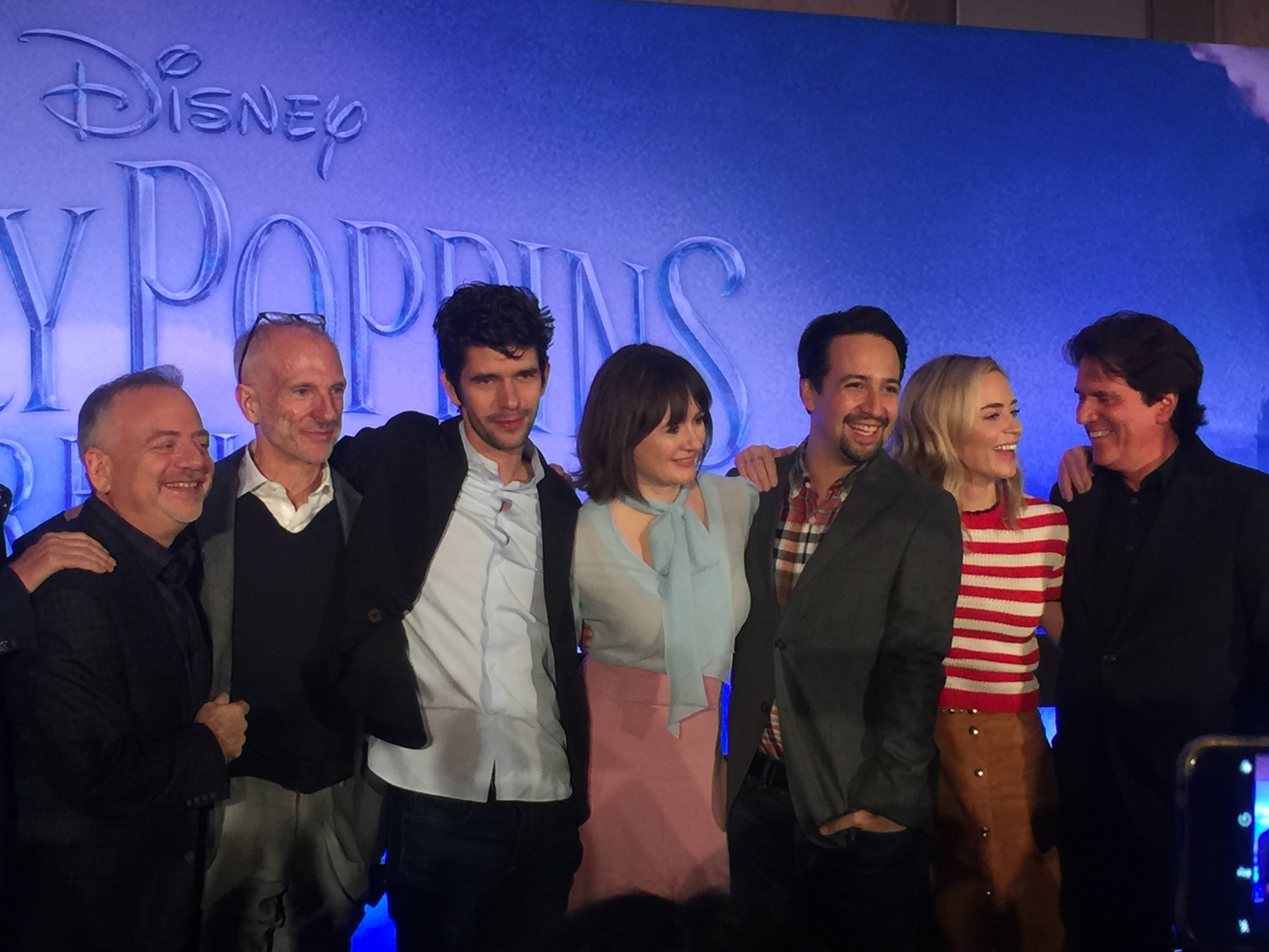 """Tripping a Little Light Fantastic"" with The Cast of 'Mary Poppins Returns'"