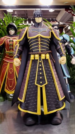 Batman. One wonders if Gene Luen Yang has seen these yet…?