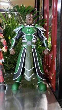 John Stewart / Green Lantern, looking boss.