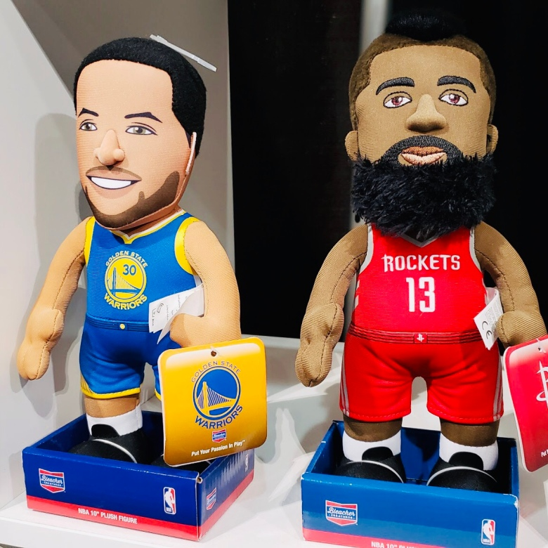 Rockets Vs Warriors Cast: Toy Fair 2019: When The World Is Falling Down, You Go Look