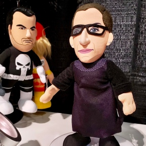 Supreme Court Justice Ruth Bader Ginsburg with Punisher in background. LOLOLOLOL.