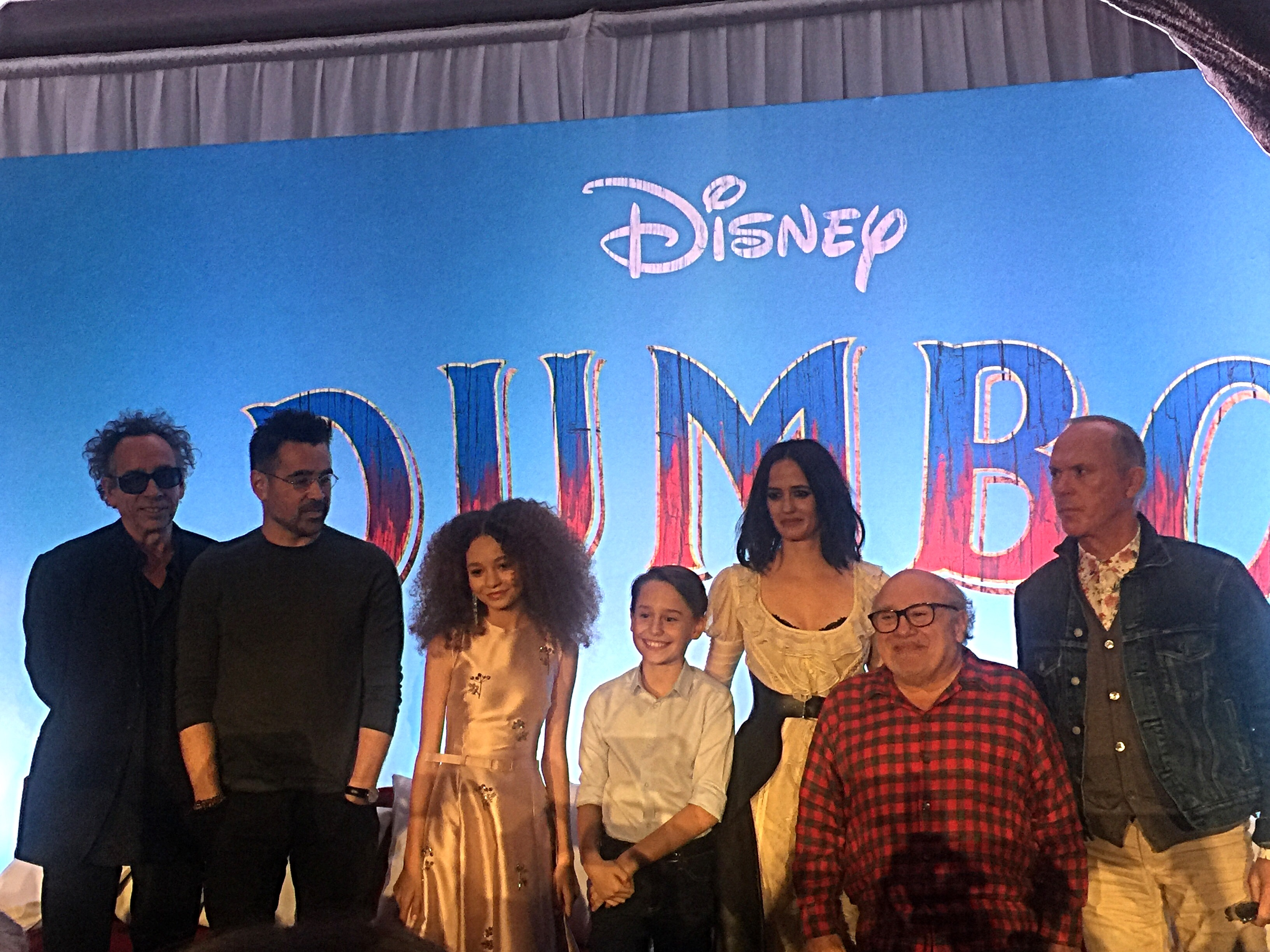 Making an Elephant Soar with the Director and Stars of 'Dumbo'