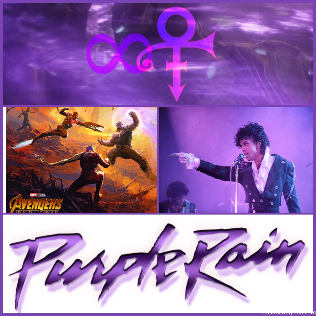 Infinity Rain: An Avengers / Prince Mash-Up, Annotated