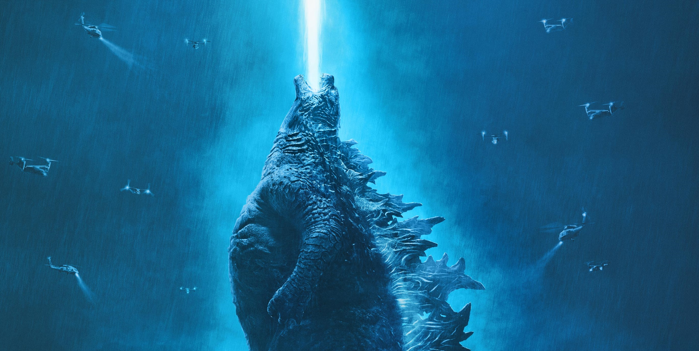 New Poster for 'Godzilla: King of the Monsters' Stomps Online
