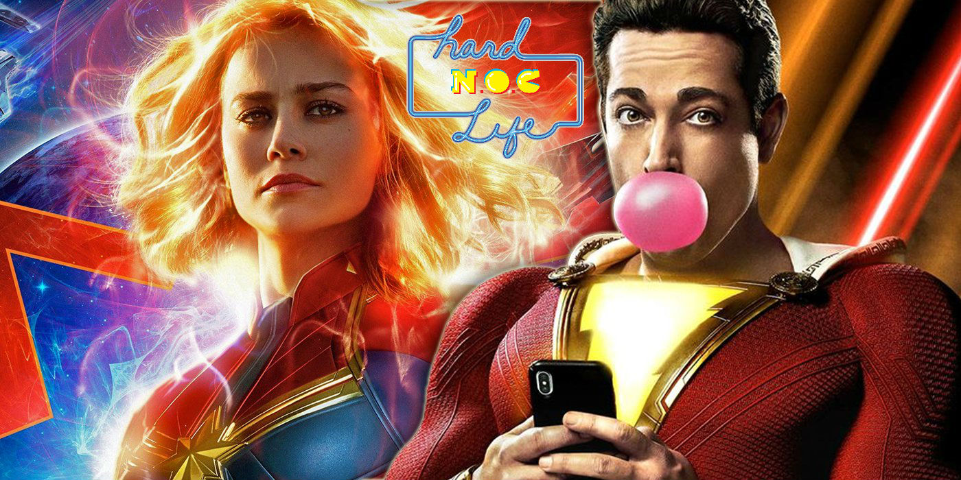 Hard NOC Life: When 'Captain Marvel' Met 'Shazam'