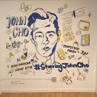 #StarringJohnCho Comes to Life in New York City Art Show