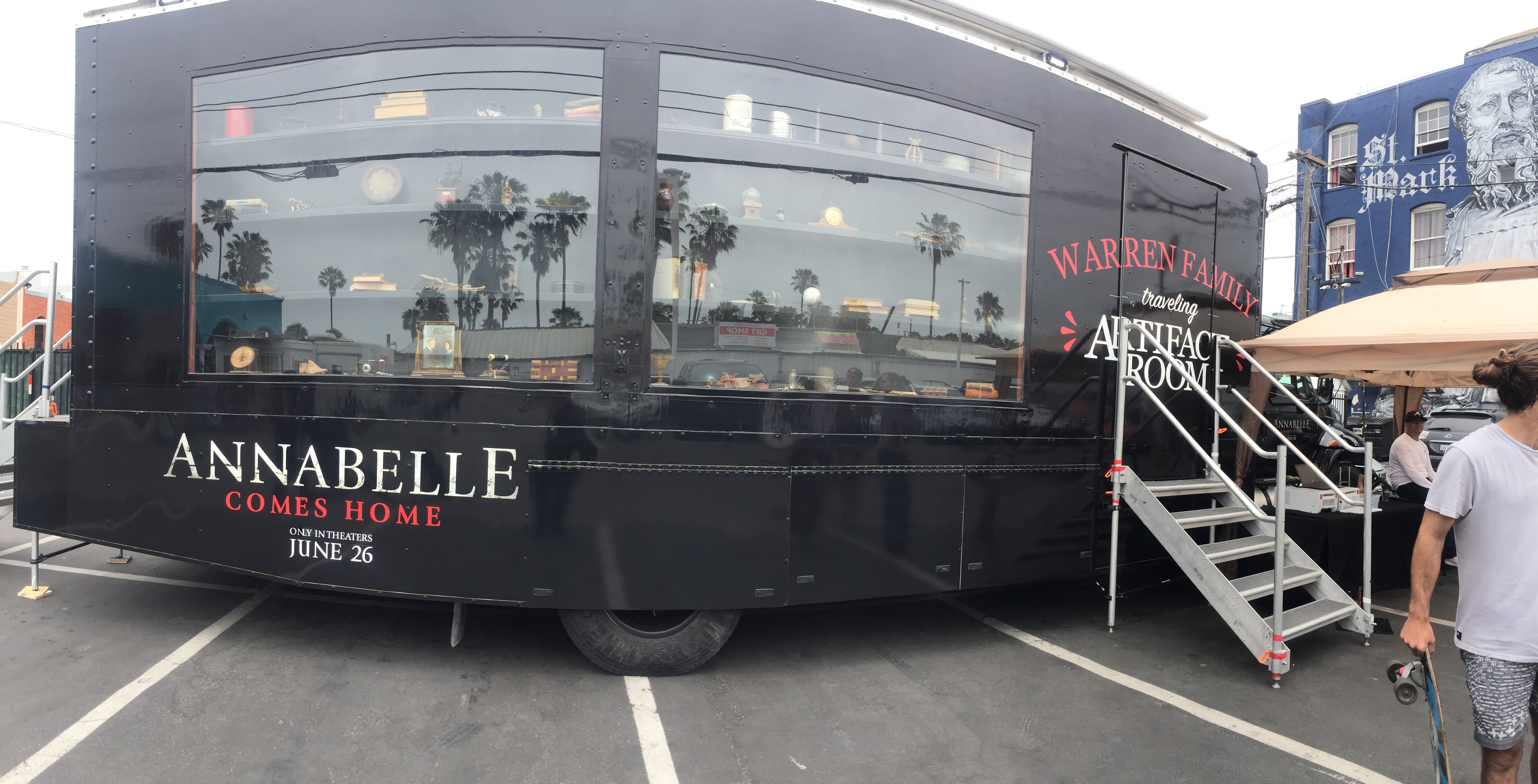 Photos from the 'Annabelle Comes Home' Artifact Tour Truck