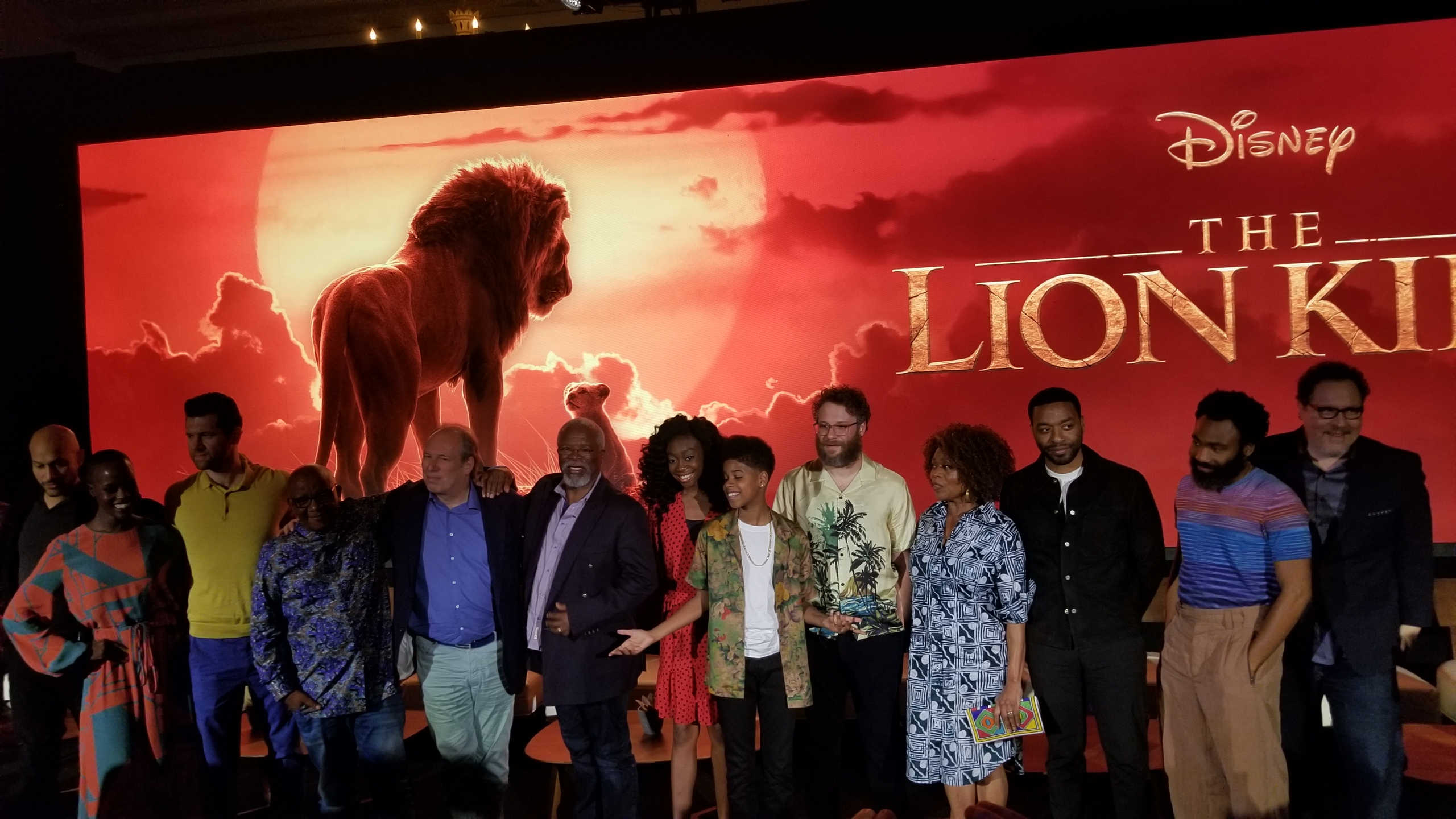 Things We Learned From Disney's 'The Lion King' Press