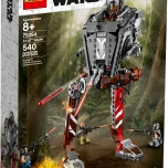 "LEGO® Star Wars™ 75254 – AT-ST™ Raider - $49.99 Recreate epic Star Wars adventures from The Mandalorian! Stride into action with the awesome AT-ST Raider from the Star Wars™ TV series, The Mandalorian! This cool walker has everything you'd expect, including posable legs and a turning turret with an opening cockpit and firing shooters. The set also comes with the Mandalorian, Cara Dune and 2 Klatooinian Raiders to get the LEGO® Star Wars action going straight away! Are you ready to play, young Mandalorian? Includes 4 LEGO® Star Wars™ characters: The Mandalorian, Cara Dune and 2 Klatooinian Raider minifigures. LEGO® Star Wars™ AT-ST vehicle features posable jointed legs, a wheel-activated turning turret, opening canopy with space for a minifigure inside a detailed cockpit, and specially decorated elements for a cannibalized look. Weapons include 3 blaster rifles and a blaster. Recreate amazing adventures from the hit Star Wars: TV series The Mandalorian. Makes a great birthday gift, Christmas present or just a Star Wars™ gift for any occasion. LEGO® Star Wars™ AT-ST walker building toy measures over 9"" (25cm) high, 5"" (15cm) long and 5"" (13cm) wide. Available October 4"