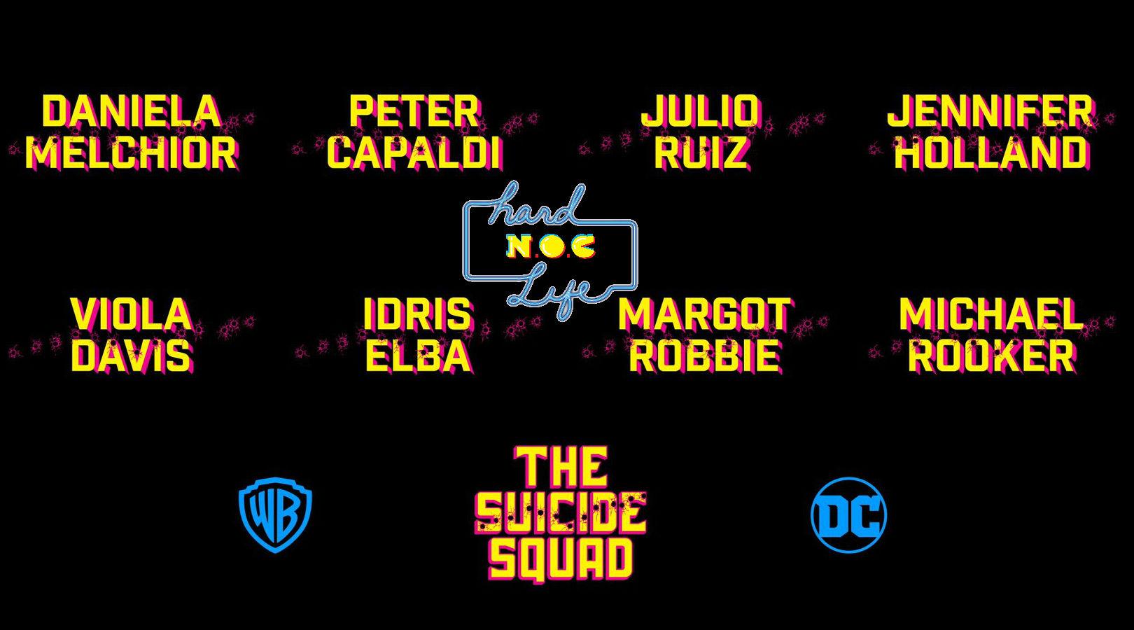 Hard NOC Life: 'Suicide Squad' Bingo
