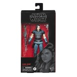 STAR WARS: THE BLACK SERIES 6-INCH CARA DUNE Figure (HASBRO/Ages 4 years & up/Approx. Retail Price: Starting at $19.99/Available: Fall 2019) Fans and collectors can imagine exciting moments from the STAR WARS Galaxy with this premium STAR WARS: THE BLACK SERIES 6-INCH CARA DUNE figure, inspired by THE MANDALORIAN live-action TV series on Disney Plus. This figure comes with 3 CARA DUNE-inspired accessories, and features premium detail and multiple points of articulation, making it a great addition to any STAR WARS collection. Includes figure and 3 accessories. Available at most major retailers.