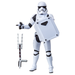 STAR WARS: THE BLACK SERIES 6-INCH FIRST ORDER STORMTROOPER Figure (HASBRO/Ages 4 years & up/Approx. Retail Price: Starting at $19.99/Available: Fall 2019) Fans and collectors can imagine scenes from the STAR WARS Galaxy with this premium STAR WARS: THE BLACK SERIES 6-INCH FIRST ORDER STORMTROOPER figure, inspired by STAR WARS: THE LAST JEDI. This figure comes with FIRST ORDER STORMTROOPER-inspired accessories, and features premium detail and multiple points of articulation, making it a great addition to any STAR WARS collection. Includes figure and 2 accessories. Available at most major retailers.