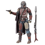 STAR WARS: THE BLACK SERIES 6-INCH THE MANDALORIAN Figure (HASBRO/Ages 4 years & up/Approx. Retail Price: Starting at $19.99/Available: Fall 2019) Fans and collectors can imagine scenes from the STAR WARS Galaxy with this premium STAR WARS: THE BLACK SERIES 6-INCH THE MANDALORIAN figure, inspired by the THE MANDALORIAN live-action TV series on Disney Plus. This figure comes with THE MANDALORIAN-inspired accessories, and features premium detail and multiple points of articulation, making it a great addition to any STAR WARS collection. Includes figure and 2 accessories. Available at most major retailers.
