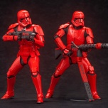 ARTFX+ Sith Trooper Two Pack - $129.99 The newest addition to Kotobukiya's ARTFX+ Star Wars statue series features all new Sith Troopers from Star Wars: The Rise Of Skywalker in a two pack collection that is perfect for any Star Wars collection! The blaster rifle and mega blaster with integrated grenade launcher are included with the Sith Trooper Two Pack, and can be used to reenact scenes from within the movie. Star Wars: The Rise Of Skywalker will be shown in theaters in both Japan and U.S. on December 20! Don't miss out! Available at Amazon.com and Kotobukiya distributors.