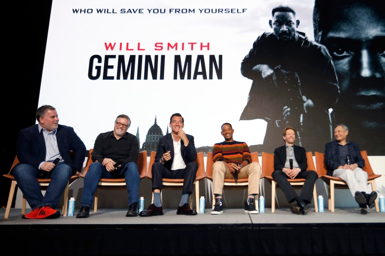 """""""Gemini Man"""" Global Press Conference /// Will Smith collaborates with YouTube in support of """"Gemini Man"""""""