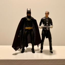 Alfred with NECA 1989 Batman