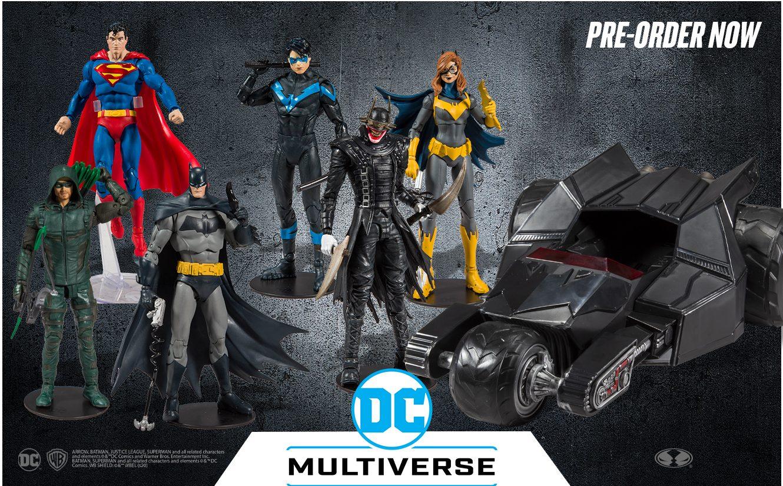 McFarlane Toys DC Comics Multiverse Batmobile Series Dick Grayson Nightwing