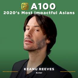 A100 Portraits_Keanu Reeves