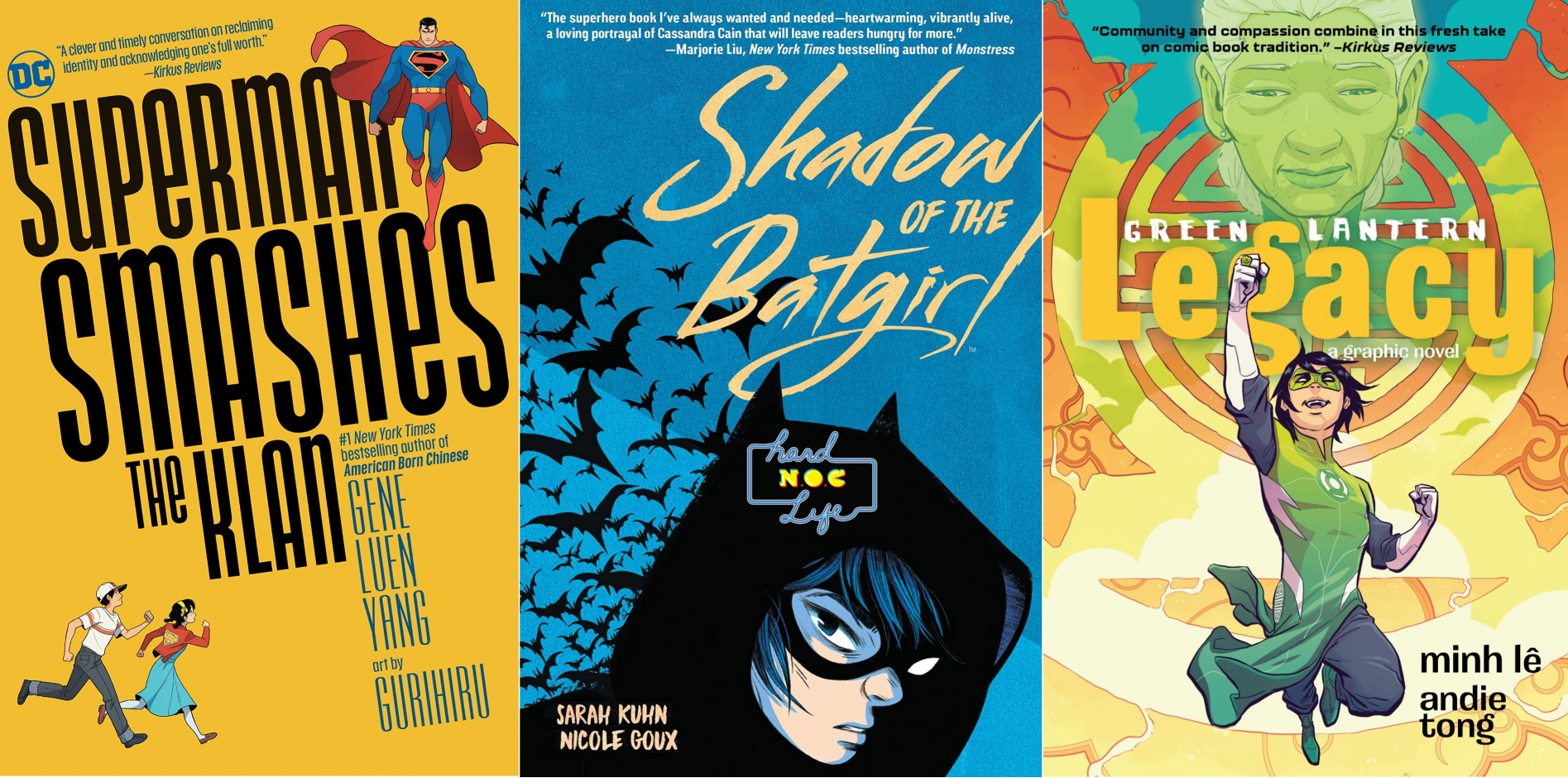 Hard NOC Life: DC Celebrates APA Heritage Month with Gene Yang, Sarah Kuhn, and Minh Lê