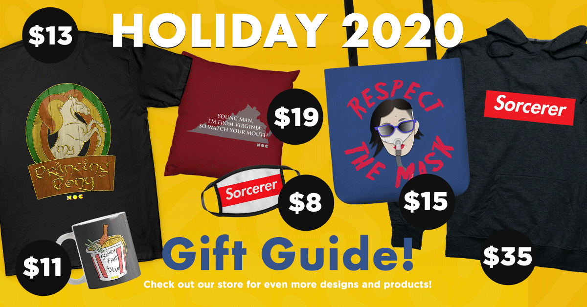 2020 Holiday Merch Sale